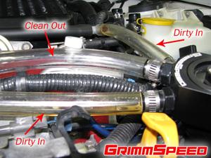 GrimmSpeed Subaru Air Oil Separator