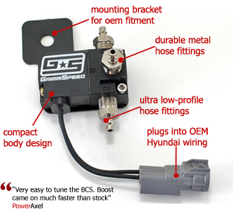 GrimmSpeed Hyundai Genesis 3-Port Electronic Boost Control Solenoid