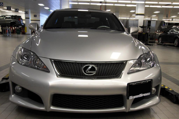 GrimmSpeed™ Subaru WRX STI License Plate Relocation Kit & License Plate Relocation Kit - Lexus IS 250/350/ISF - GrimmSpeed