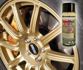 GrimmSpeed Gold BBS Wheel Paint