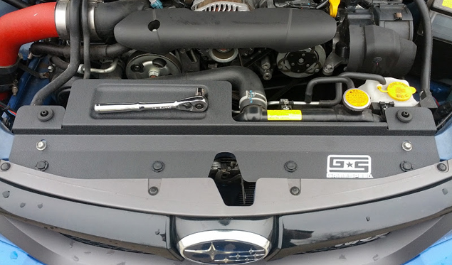 GrimmSpeed Subaru Radiator Shroud - Impreza WRX STi